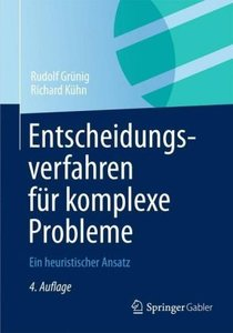 Entscheidungsverfahren für komplexe Probleme