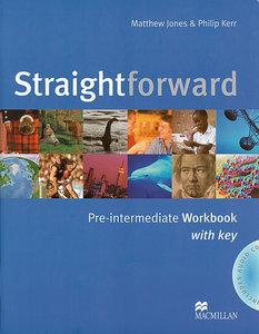 Straightforward Pre-intermediate. Workbook with Key and Audio-CD