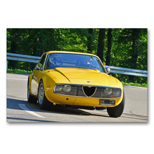 Premium Textil-Leinwand 90 cm x 60 cm quer Alfa Romeo Junior Zag
