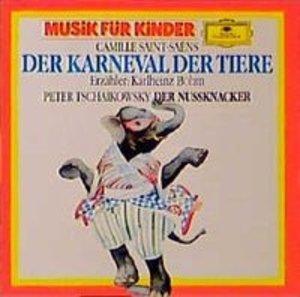 Der Karneval der Tiere / Der Nußknacker op. 71a. CD