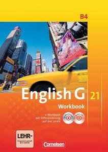 English G 21. Ausgabe B 4: 8. Schuljahr. Workbook mit CD-ROM (e-