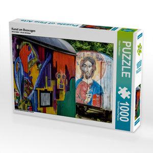 Kunst am Bauwagen 1000 Teile Puzzle quer