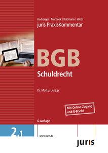 juris Praxiskommentar BGB Gesamtausgabe Band 02. Schuldrecht. Mi