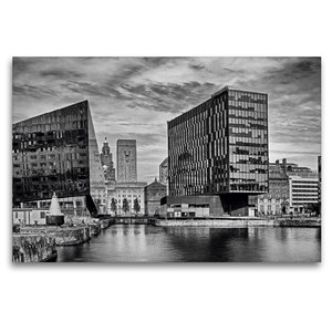 Premium Textil-Leinwand 120 cm x 80 cm quer Liverpool