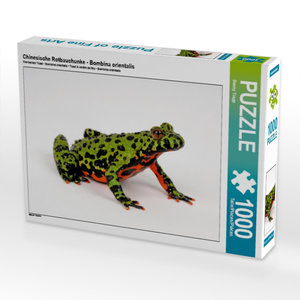 Chinesische Rotbauchunke - Bombina orientalis 1000 Teile Puzzle