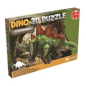 Dinosaurier Puzzle 3 D - Stegosaurus - 49 Teile