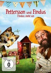 Pettersson und Findus-Findus zieht um