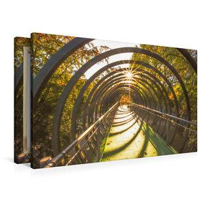 Premium Textil-Leinwand 90 cm x 60 cm quer Mit Sonnenstrahlen du