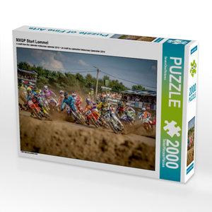 CALVENDO Puzzle MXGP Start Lommel 2000 Teile Lege-Größe 90 x 67