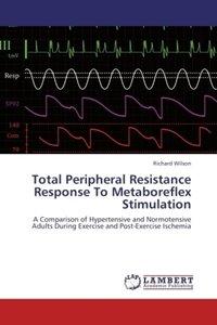 Total Peripheral Resistance Response To Metaboreflex Stimulation