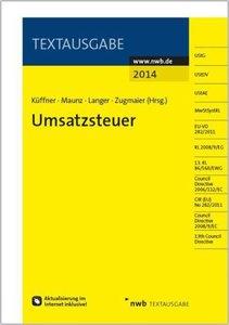 Umsatzsteuer 2014