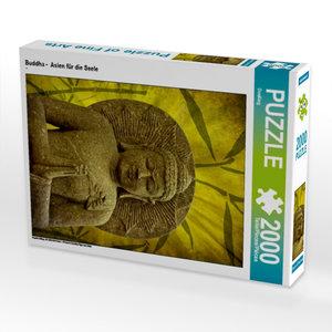 Buddha - Asien für die Seele 2000 Teile Puzzle hoch