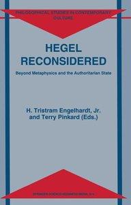 Hegel Reconsidered