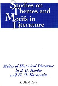 Modes of Historical Discourse in J.G. Herder and N.M. Karamzin