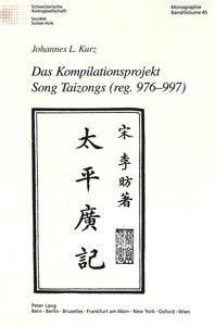 Das Kompilationsprojekt Song Taizongs (reg. 976-997)