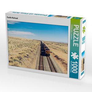 CALVENDO Puzzle Pacific Railroad 1000 Teile Lege-Größe 64 x 48 c