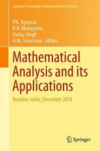 Recent Trends in Mathematical Analysis and its Applications