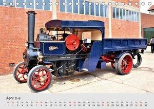 Oldtimer-Dampffahrzeuge. Historische Dampf- und Heißluftfahrzeug