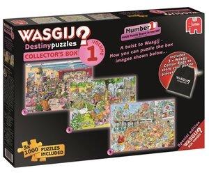 Jumbo Puzzle Wasgij Destiny 3 in 1 Sammelbox, 3x1000 Teile, ausg