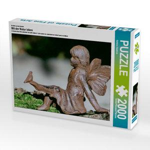 Ein Motiv aus dem Kalender Mit der Natur leben 2000 Teile Puzzle