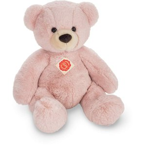 Teddy Hermann 91364 - Teddy Dusty, rosé, sitzend, 40 cm, Plüscht