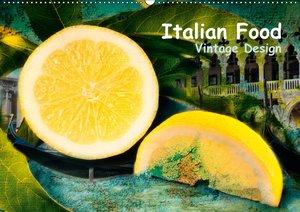 Italian Food - Vintage Design