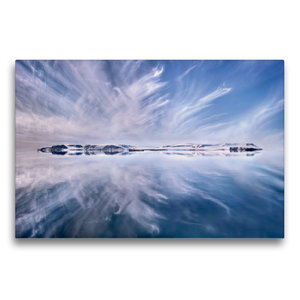 Premium Textil-Leinwand 75 cm x 50 cm quer Only A Beautiful Arct
