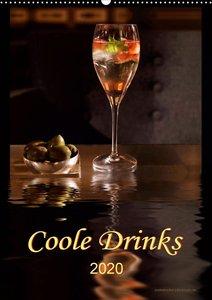 Coole Drinks (Wandkalender 2020 DIN A2 hoch)