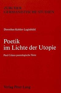 Poetik im Lichte der Utopie