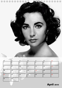 Elizabeth Taylor (Wandkalender 2019 DIN A4 hoch)