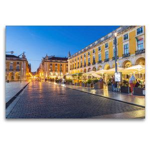 Premium Textil-Leinwand 120 cm x 80 cm quer Restaurants auf Prac