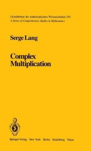 Complex Multiplication