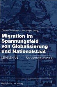 Migration im Spannungsfeld von Globalisierung und Nationalstaat