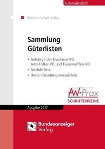 Sammlung Güterlisten - Ausgabe 2017