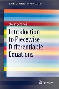 Introduction to Piecewise Differentiable Equations