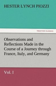 Observations and Reflections Made in the Course of a Journey thr