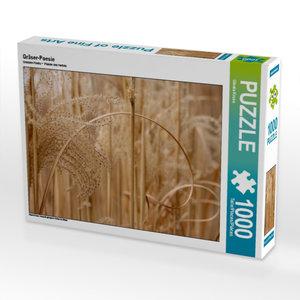 Gräser-Poesie 1000 Teile Puzzle quer