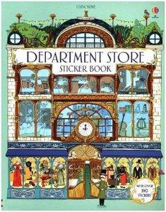 Department Store Sticker Book