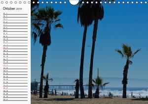 KALIFORNIEN Küstenimpressionen (Wandkalender 2019 DIN A4 quer)