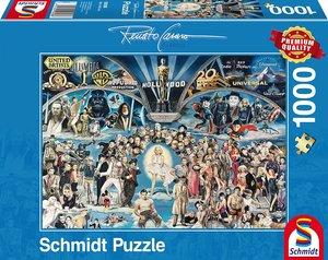 Schmidt Spiele Puzzle Renato Casaro Hollywood 1.000 Teile