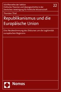 Republikanismus und die Europäische Union