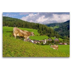 Premium Textil-Leinwand 120 cm x 80 cm quer St. Lorenzen