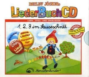 1, 2, 3 im Sauseschritt. CD und Buch