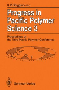 Progress in Pacific Polymer Science 3