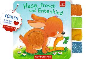 Mein Fühl-Laschenbuch: Hase, Frosch und Entenkind