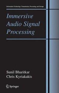 Immersive Audio Signal Processing