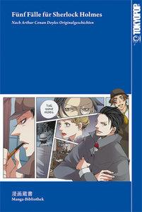 Manga-Bibliothek: Fünf Fälle für Sherlock Holmes