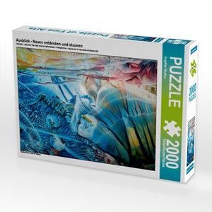 Ausblick - Neues entdecken und staunen 2000 Teile Puzzle quer