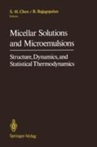 Micellar Solutions and Microemulsions