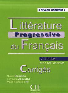 Communication progressive du français - Niveau débutant. Corrigé